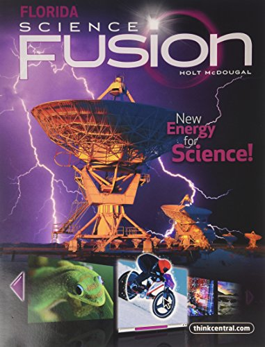 Holt McDougal Science Fusion Florida: Student Edition Interactive Worktext Grade 6 2012