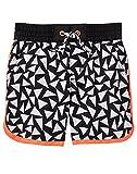 Gymboree Baby Boys Geo Swim Trunks, Black Triangles, 4T