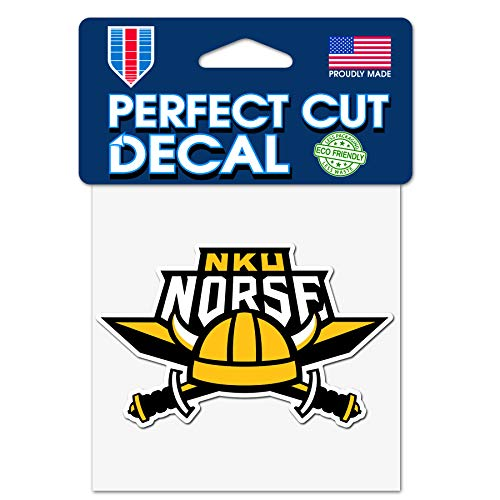 WinCraft Northern Kentucky University NKU Norse 4x4 Perfect Cut Decals ()