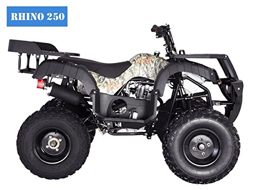 amazon com brand new adult size 250 atv with standard manual clutch Suzuki ATV Utility amazon com brand new adult size 250 atv with standard manual clutch and big tires with reverse (blue) automotive