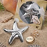 Starfish Design Bottle Opener Wedding Favors, 20