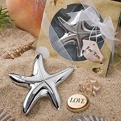 Starfish Design Bottle Opener Wedding Favors, 96