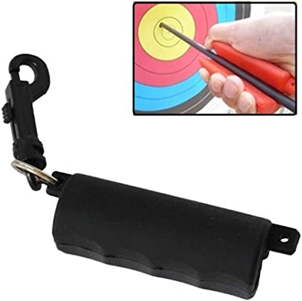 1x Archery Arrow Puller Rubber Key Chain Remover Target Bow Practice Sports Tool