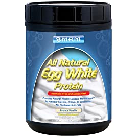 MRM - Hormone & Antibiotic 10 PROTEIN ALTERNATIVE FOR PEOPLE WITH LACTOSE INTOLERANCE: One unique use of egg white protein is that it is lactose free. Many individuals with lactose issues are not able to tolerate a whey protein powder. DAIRY-FREE, GLUTEN-FREE & ZERO CHOLESTEROL: Egg White Protein has the highest biological value because of essential amino acids and sulfur-containing proteins naturally occurring. Egg whites contain no cholesterol, fats, or carbohydrates. PERFECT FOR ALL AGE GROUPS & ACTIVE LIFESTYLES: It offers a source of protein that is 100% derived from egg albumen, and is produced from a superior extraction process allowing for easy mixability and digestion.
