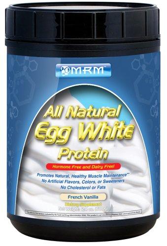 MRM All Natural Egg White Protein French Vanilla