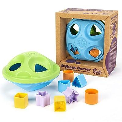 Green Toys Shape Sorter, Green/Blue: Toys & Games