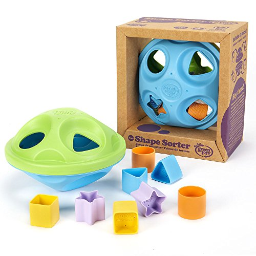 Green Toys Shape Sorter, Green/Blue by Green Toys (Image #1)