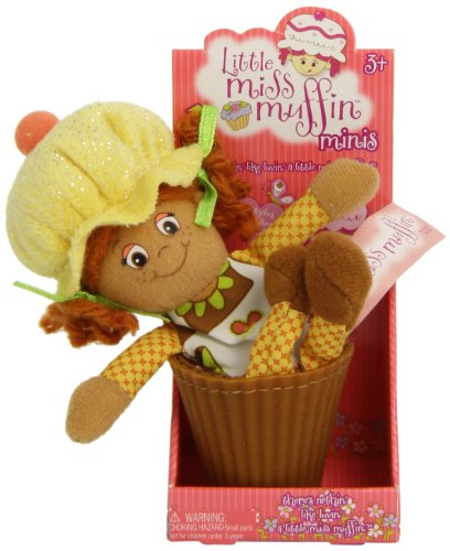 Sugar Plum Cottage - Little Miss Muffin Surprise Zip Pull Box Doll