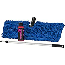 Chemical Guys HOL131 Premium Chenille Microfiber Car Wash Mop And Heavy Duty Extendable Pole Kit (For RVs, Trucks, And Large Vehicles 3 Items)