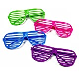Best Birthday Gifts For Teen Boys - [Novelty Place] Neon Color Shutter Glasses 80's Party Review