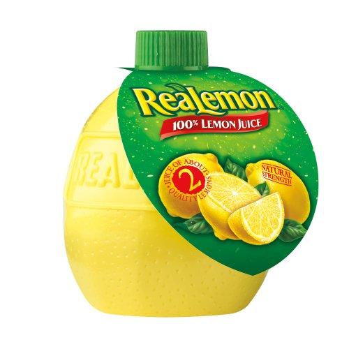 ReaLemon 100% Lemon Juice, 2.5 fl oz bottles (Pack of 24)