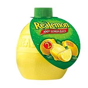 Realemon 100% Lemon Juice, 2.5 oz