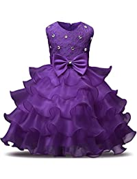Purple Fluffy Dresses