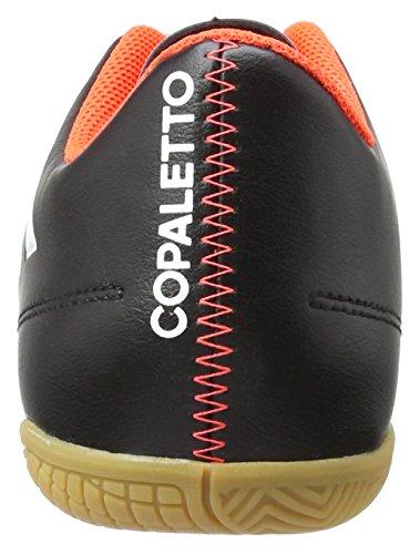 adidas Copaletto In, Botas de Fútbol para Hombre Negro - Schwarz (schwarz/Weiß/Rot)