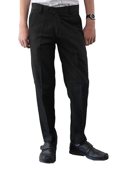 f665f7f8b44728 Pantalones de vestir, Direct Uniforms, para hombre, modelo Slim Fit/Skinny,  pernera estrecha, color negro: Amazon.es: Ropa y accesorios