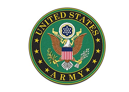 US Army Sticker United States Military Emblem Auto Car Decal Window Bumper Sticker (3