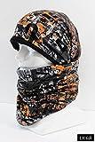 LK foR (エルケーフォー) LMG-03 ロングループマフラー 雪付きにくいタイプ ネックウォーマー フルフェイス フェイスマスク 帽子 マフラー ニットキャップ 防寒 スキー スノーボード 登山 アウトドア 一枚で首と頭が防寒できる