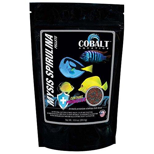 Cobalt Aquatics 10 oz Mysis Spirulina Pellet Fish ()