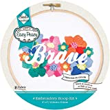 """Needle Creations NC-EP-EMB-1 Embroidery Hoop Kit 6"""" Brave, None"""