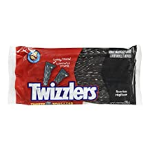 Twizzlers Black Licorice, 375 Gram