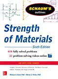 Schaum's Outline of Strength of Materials, 6th