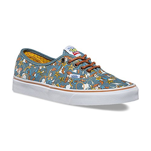 Disney Shoes For Adults (VANS Authentic Disney-Pixar Toy Story Sheriff Woody Sneakers VN0A348AM4Z Unisex Shoes (5 Men/ 6.5 Women))