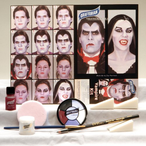 Loftus International Vampire Makeup Kit Novelty Item