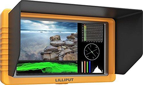 """LILLIPUT 5"""" Q5 FULL HD Metal Slim Camera-top monitor 1000:1"""