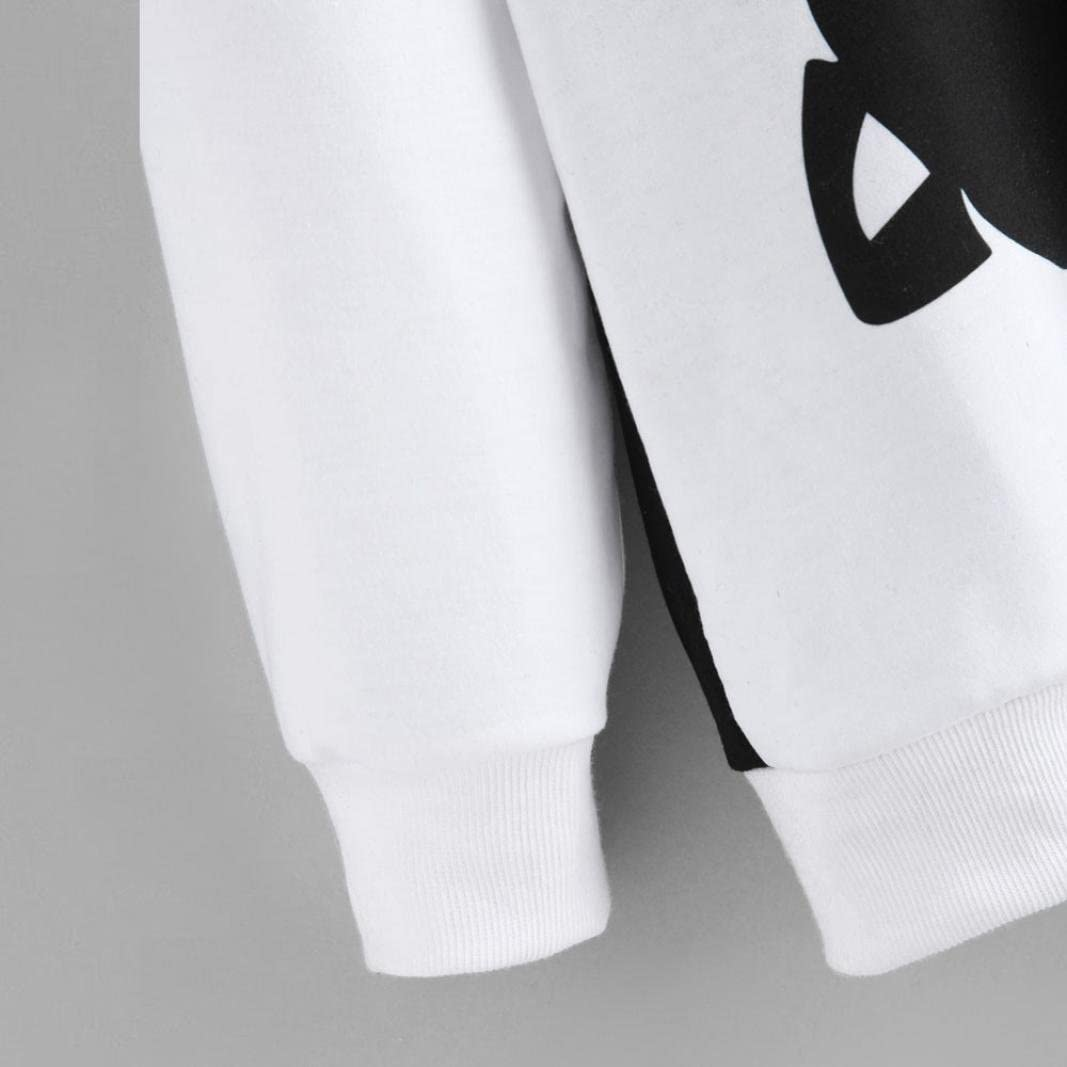 New Women/'s Teen Girls Cat Printing Long Sleeve Sweatshirt Pullover Tops Blouse