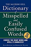 img - for The McGraw-Hill Dictionary of Misspelled and Easily Confused Words book / textbook / text book