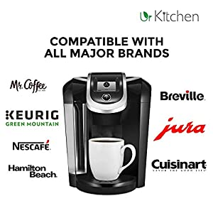 [BEST QUALITY] Descaling Solution - All Major Coffee Brewer Including Single Serve - Food Grade Safe - 100% MONEY BACK from urKitchen