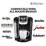 [BEST QUALITY] 2 Pack urKitchen Descaling Solution - Coffee Machine Descaler For Keurig Cusinart Hamilton Beach Tassimo Breville Mr. Coffee & More - Also Great Descaler For Espresso Machine 100% SAFE