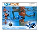 Aqua Fitness Exercise Set - 6 Piece Set - Water Workout and Aerobics - Floatation Belt, Resistance Gloves, Barbells by Aqua Leisure by Aqua Leisure