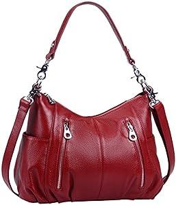 Heshe Women's Handbags Shoulder Cross Body Totes Bags Purses for Ladies