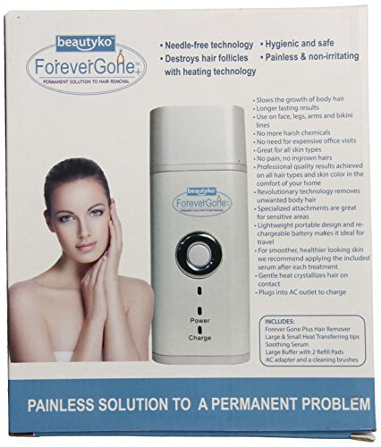 Beautyko Gone Pain Free Hair Removal Complete System ...