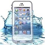 BestProtect Waterproof Shockproof Dirtproof Snowproof Protection Case Cover for Apple iPhone 5 - White