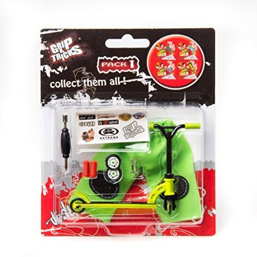 Grips & Tricks Finger Scooter Stunt Pack 1 (Green) (Scooters Finger Pro)
