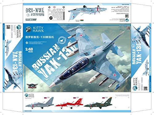 Kitty Hawk KH80157 1:48 Russian Aircraft Yak 130 Plastic Model Building ()