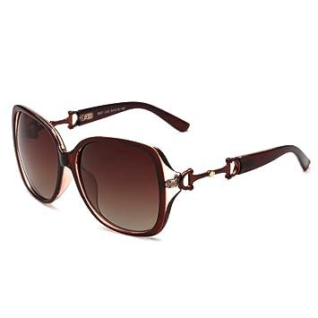 Aoligei Progressive Zweifarben-polarisierte Sonnenbrille Damen Europäische und amerikanische Mode Sonnenbrillen Kröte wNQT87XpZ