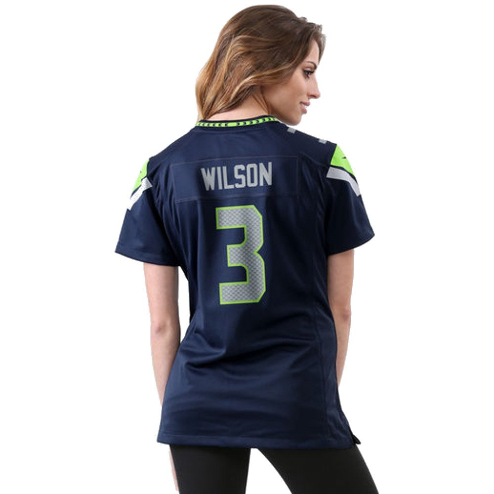ab0ddcf1 Amazon.com : Nike Russell Wilson Seattle Seahawks Women's College ...