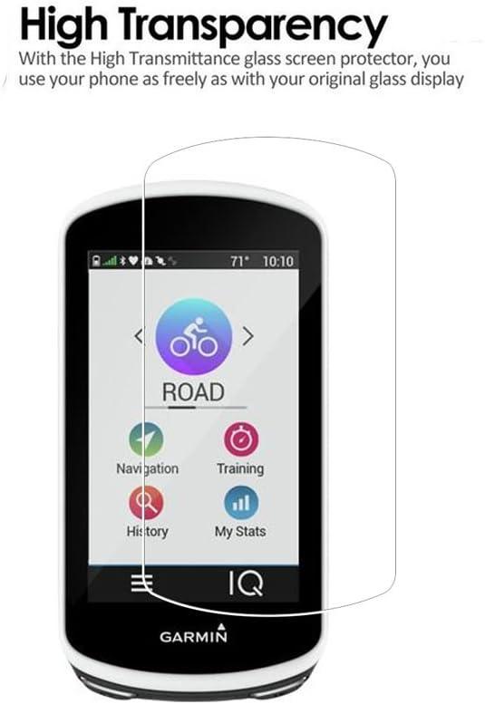 2 Pack) Garmin Edge 1030 Protector de pantalla, cobertura total 9H ...