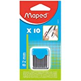 Maped 2 mm Compass Leads in Recloseable Pack, Pack of 10 (134210)