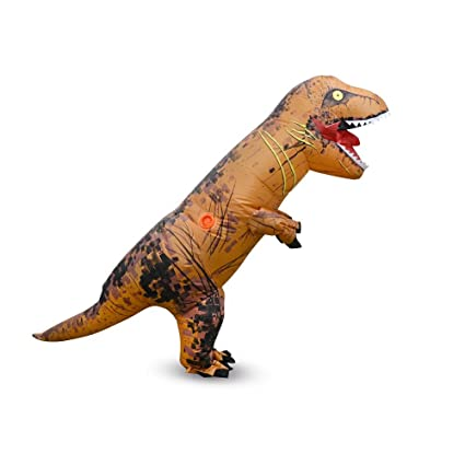 yuanyistyle t rex inflatable kids costume