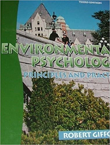 Environmental Psychology: Principles and Practice (3rd ed.), Gifford, Robert