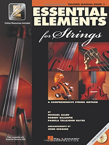 Essential Elements for Strings - Book 1 with EEi: Teacher Manual