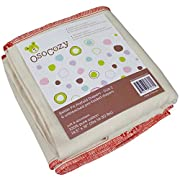 Osocozy Unbleached Better Fit Prefolds - Premium 4x8x4 - 6 pack (14-30 lbs)
