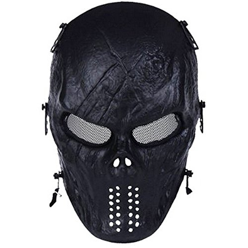 Review Tactical Mask Skull Full