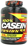 SAN Nutrition Casein Fusion Time-Released Micellar Casein Protein Powder, Vanilla Pudding, 4.37 Pounds