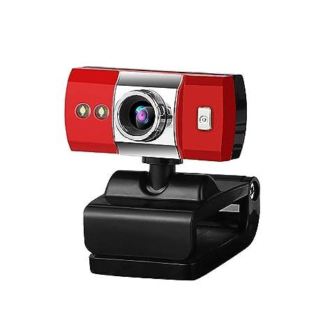 BeonJFx - Cámara de visión Nocturna con micrófono USB 2.0 para PC, Ordenador y Ordenador