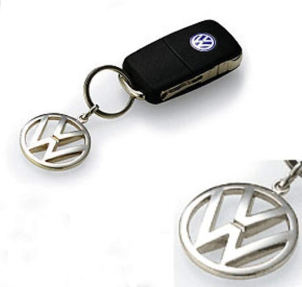 Amazon.com: Volkswagen metal Key Chain Llavero Fob Plata ...